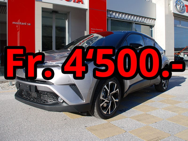 Toyota C-HR 4WD