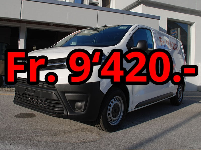 Toyota Proace 4WD